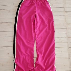 Nike Hot Pink Track Pants Cotton Lined Size M
